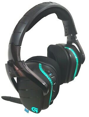 Logitech G933 Artemis Spectrum 2.4GHz Wireless RGB 7.1 DST Gaming Headset Black