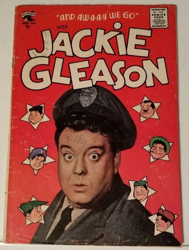 JACKIE GLEASON # 1 - ST. JOHN - SEPTEMBER 1955