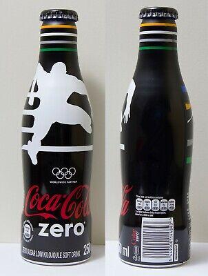 Rare Coca cola aluminum bottle. Coke / Olympics south africa zero.