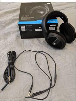 Sennheiser HD569 Around Ear Headphones with Inline Mic