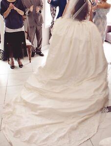 Européen Style - Ivory Wedding Detachable Skirt