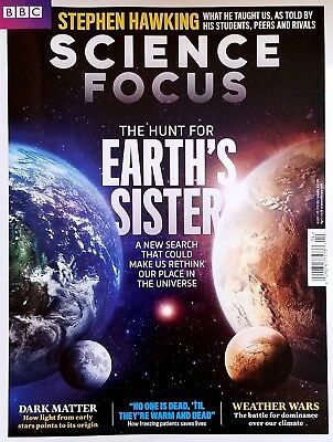 BBC STEPHEN HAWKING SCIENCE ~ FOCUS MAGAZINE HUNT EARTH'S SISTER 2018 NEW SEARCH