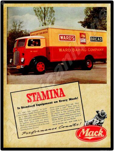 1938 Mack Trucks NEW Metal Sign: COE Ward
