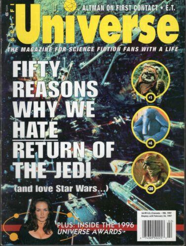 Sci-Fi Universe Magazine - Feb 1997 Star Wars Jedi Universe Awards  Good Cond