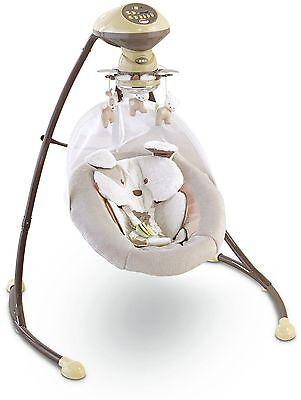 Fisher-Price My Little Snugapuppy Cradle 'n Swing New