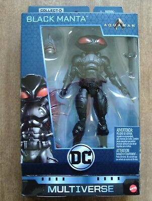 DC Multiverse Black Manta Figure withTrench Warrior BAF Part! 2018 Aquaman