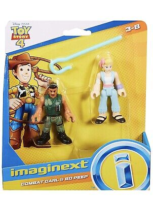 Imaginext COMBAT CARL & BO PEEP Disney Toy Story 4 Figure Fisher Price NEW 2019