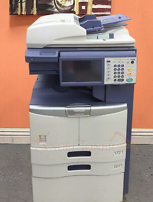 Toshiba E-studio 356 Mono Printer Scanner Copier 35 Ppm Laser Tabloidledger