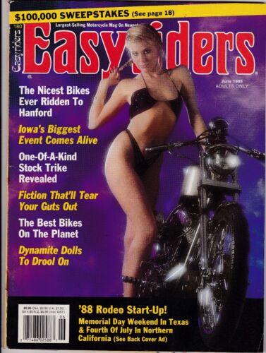 Easyriders Motorcycle Magazine JUNE 1988 JUN