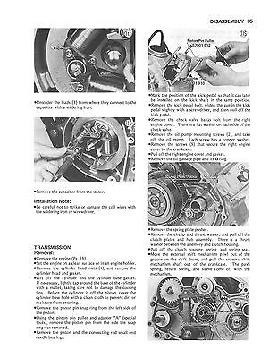 kawasaki kz200 service repair manual 1978 1984