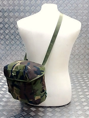 Genuine British Army S10 S6 Gas Mask Bag DPM Camo Haversack Respirator PLCE for sale  Shipping to Ireland
