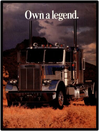 "1981 Freightliner Trucks New Metal Sign: ""Own A Legend""  -  Free Shipping"