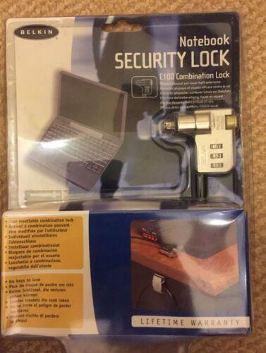 Belkin Model C100/F8E503 Notebook Security Combination Lock