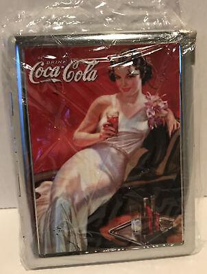 Vintage Coca Cola Cigarette Case Lighter. Great Condition!