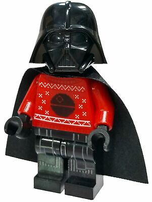 Lego Star Wars Darth Vader Minifigure [Red Christmas Sweater with Death Star]