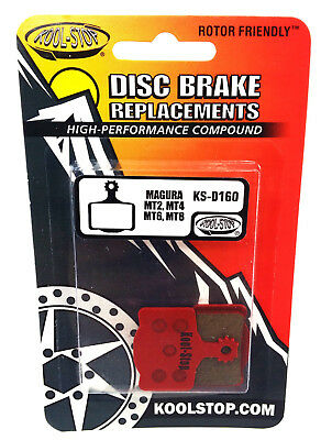Kool-Stop Disc Brake Pad Fits Magura MT2 MT4 MT6 /& MT8 Organic Pad Compound