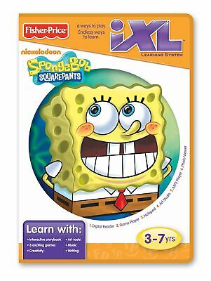 Fisher-Price iXL Learning System Software Spongebob Squarepants for sale  Shipping to India