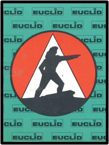 1961 Euclid Heavy Equipment, Earthmover Company NEW Metal Sign: The Pioneer!