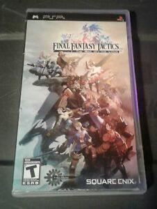 Sony psp game final Fantasy tactics 2007 used & tested