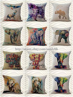 wholesale 10 wholesale pillows cushion covers lucky elephant decorative pillows