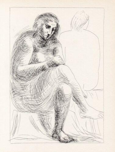 Pablo Picasso, At the Bath (Au bain), Vollard Suite