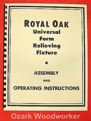 H.P Preis CG-21 /& CG-2 Universal Cutter Grinder Panto Operating Manual *1246
