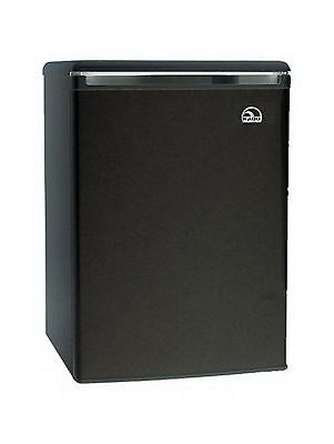 Igloo Compact Refrigerator Freezer 3.2 cu. ft. Small Mini Dorm Fridge Black New