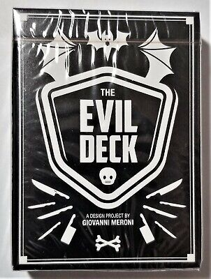 Evil Deck Playing Cards Limited Edition Deck by Thirdway Industries EPCC