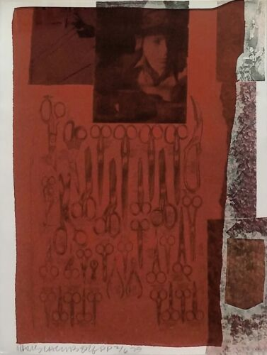 "Robert Rauschenberg ""most Distant Visible Part Of The Sea"" 1979 