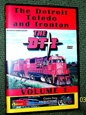 "20105 TRAIN VIDEO DVD ""THE DT&I RAILROAD"" VOL. 1 VINTAGE FILM"