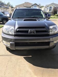 2005 TOYOTA 4 RUNNER WINTER VEHICLE FOR SALE MUST GO!