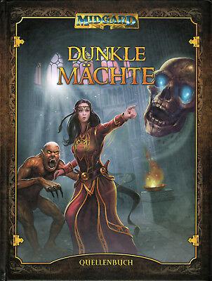 Midgard: Dunkle Mächte (Quellenband), Hardcover, NEU