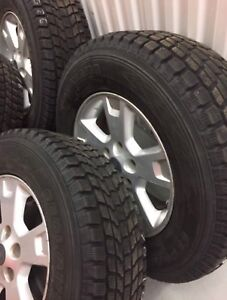 Yokohama winter tires 235/70/16 with Ford Mags