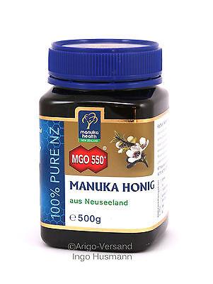 Aktiver Manuka-Honig MGO™ 550+  aus Neuseeland, 500g