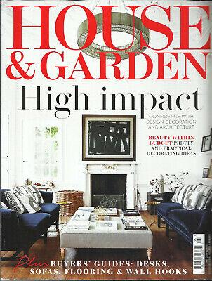 HOUSE & GARDEN MAGAZINE, THE BEST IN INTERNATIONAL DESIGN & DECORATION MAY,2019