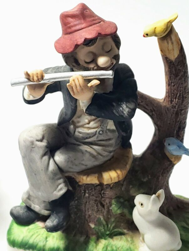 Melody in Motion Springtime Willie the Hobo Exclusive Member Figurine 1994 WACO
