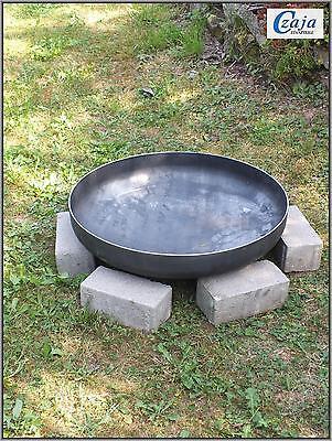 Klöpperboden  Ø 55 cm Feuerschale Klöpperboden Pflanzschale