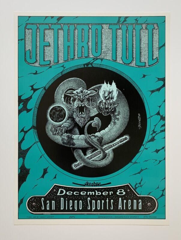 Jethro Tull Original Concert Posterby Danny Garrett