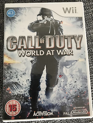 Call of Duty - World at War For PAL Wii (New &...