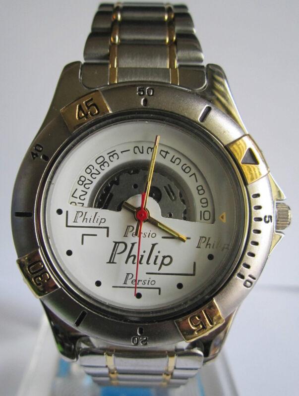 Montre Philip Persio Quartz - Japan Movt - La