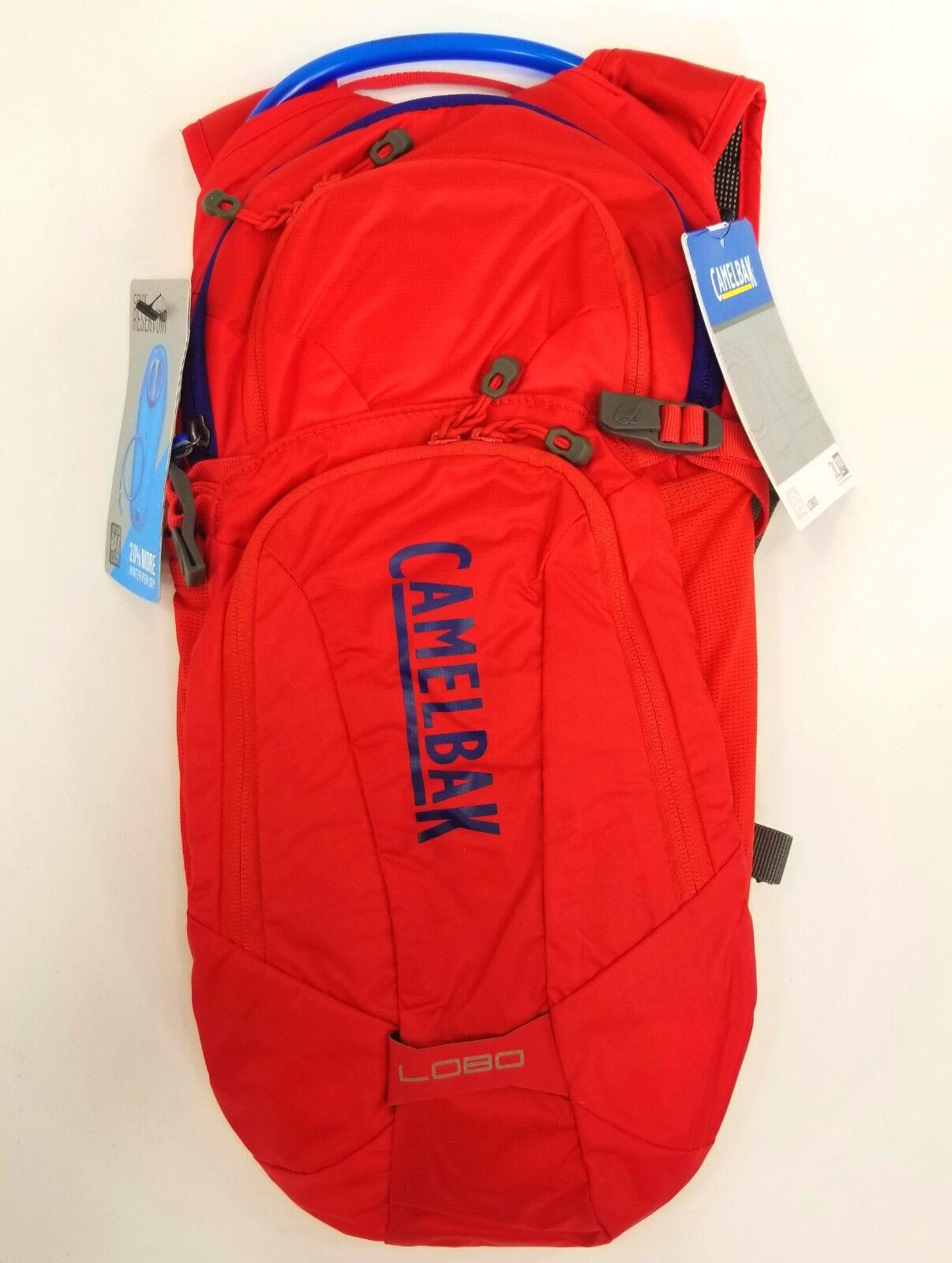lobo mountain bike hydration pack red 3l