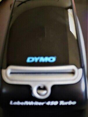 Dymo Labelwriter 450 Turbo Label Thermal Printer - Black 2024318