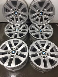 "OEM BMW 6 alum. mags 16"" for sale / 6 jantes 16 pouce BMW 5x120"