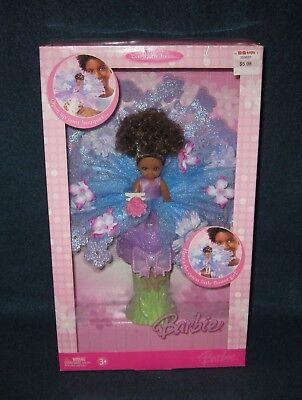 Barbie KELLY FLOWER GIRL Doll in Bouquet. African American, NRFB, Mattel 2006.