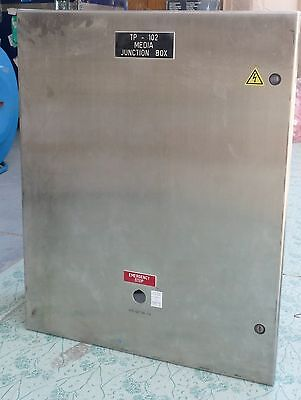 Hoffman C-sd30248ss Wall Mount Type Stainless Steel 4x Enclosure 30 X 24 X 8