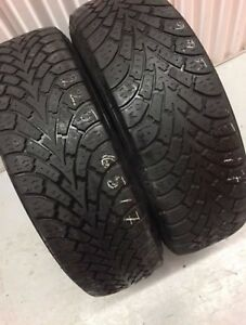 X2 Goodyear Nordic Winter Tires 225/65/17