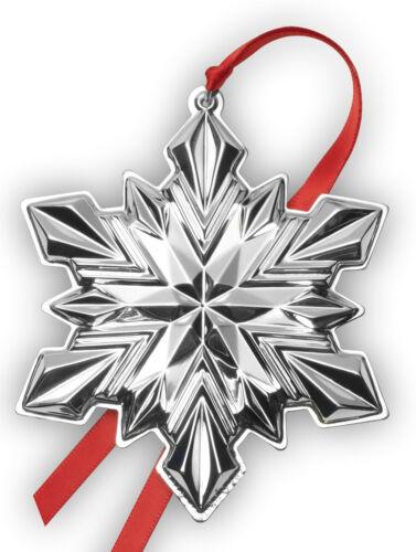 Gorham Annual Sterling Silver Snowflake Ornament 2020 NIB 51st Edition