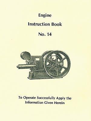 Witte Engine Instruction Book No. 14