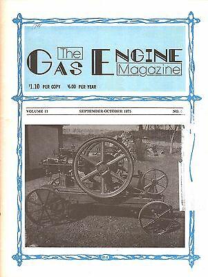 Marshall 32-70 tractor, John Deere Lindeman, Gas Engine