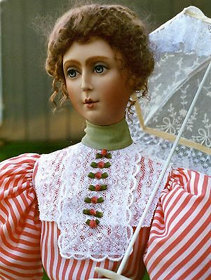 """1895 Afternoon In May Visiting Dress SewingPattern for a 27"""" Fashion Doll #35-27"""